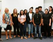 Stephens Middle School Students Win National Award in Project Citizen Contest
