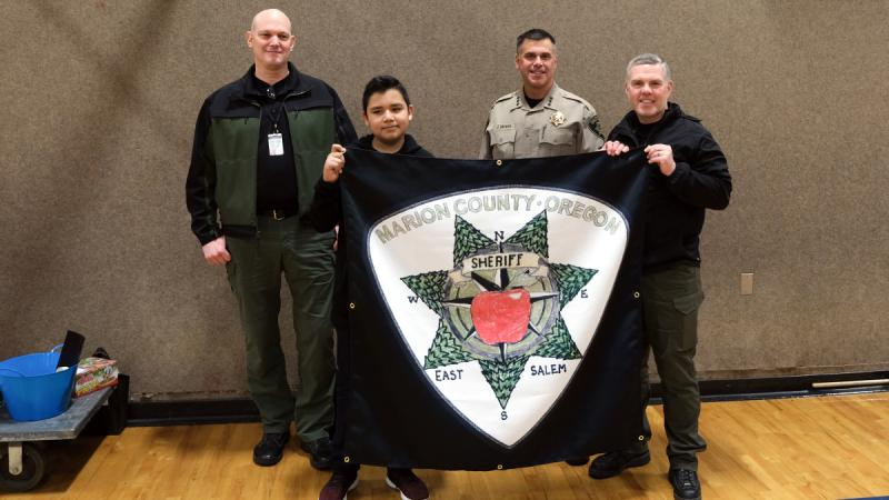 Marion County Sheriff's Office New Patch Art Contest